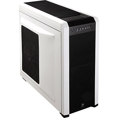 Corsair™ CC-9011013-WW Mid Tower Case, Black/Arctic White