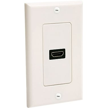 STARTECH.COM HDMIPLATE Single Outlet Female HDMI® Wall Plate, White