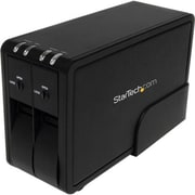 StarTech.com® SAT3520U3R External Hard Drive Enclosure With Fan
