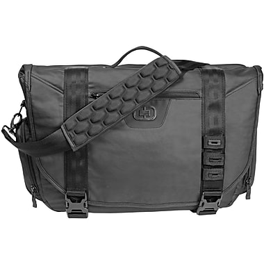 OGIO  117032.03 RIVET Messenger Carrying Case For 17in. Notebooks, Black