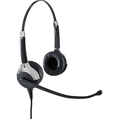 VXi 203032 Binaural Headset With Noise Cancelling Microphone