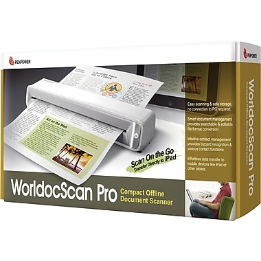 PENPOWER® SWDSPRO1EN Sheet Scanner With Offline Document Scanner