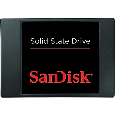 SanDisk® SDSSDP Series Solid State Drive, 2 1/2in. SATA Internal, 128 GB