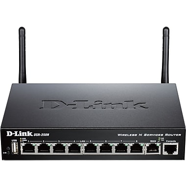 d-link® DSR-250N Wireless Integrated Services Router
