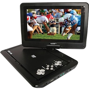Azend Group MDP 1008 Portable DVD Player With 10.1in. High Definition LCD Swivel
