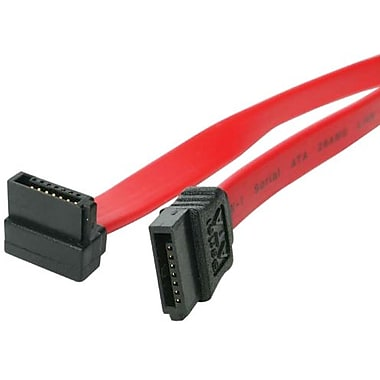 STARTECH.COM® Serial ATA to Right Angle Serial ATA Cable, 36in.(L) (SATA36RA1)