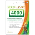 Microsoft® 4000 Points Card For Xbox 360