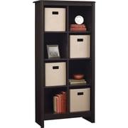 Ameriwood® Carson 8-Cube Storage Organizer, Dark Roast