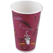 Solo® Bistro™ Paper Hot Cups, 12 Oz., 1,000/Ct
