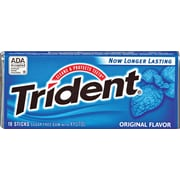 Trident® Sugar-Free Gum, Original, 12 Packs/Box