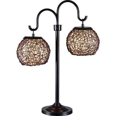 Kenroy Castillo Outdoor Table Lamp w/ Bronze Finish