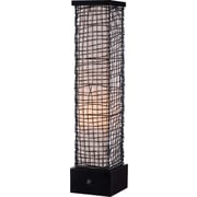 Kenroy Trellis Outdoor Table Lamp w/ Bronze Finish & 6 Cream Inner Shade
