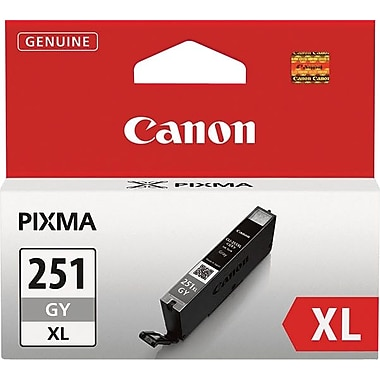Canon® CLI-251XL Gray Ink Tank, High-Yield