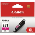 Canon CLI-251XL Magenta Ink Cartridge (6450B001), High Yield