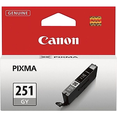 Canon CLI-251GY Gray Ink Cartridge (6517B001)