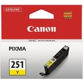 Canon CLI-251 Yellow Ink Cartridge (6516B001)