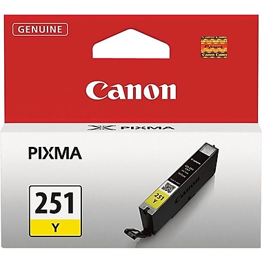 Canon® CLI-251 Yellow Ink Tank (6516B001)