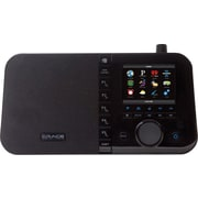Grace Digital Mondo 3.5 Color Display Desktop Internet Radio, Black