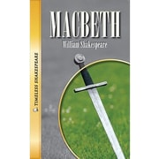 Saddleback Educational Publishing® Timeless Shakespeare; Macbeth Paperback Book, Grades 9-12