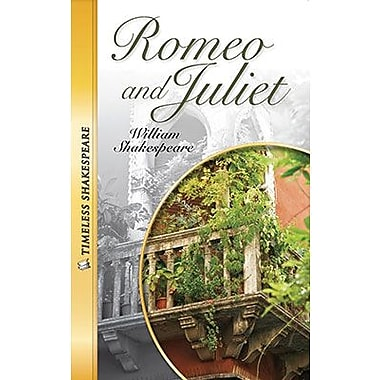 Saddleback Educational Publishing® Timeless Shakespeare; Romeo & Juliet Paperback Book, Grades 9-12