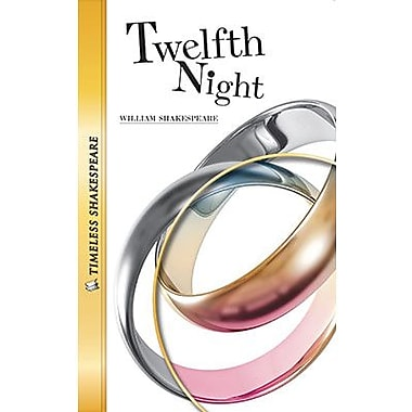 Saddleback Educational Publishing® Timeless Shakespeare; Twelfth Night Paperback Book, Grades 9-12