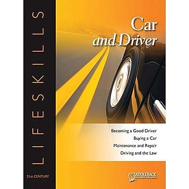 Saddleback Educational Publishing® Car and Driver Worktext; Grades 9-12