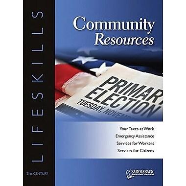 Saddleback Educational Publishing® Community Resources Worktext; Grades 9-12