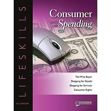 Saddleback Educational Publishing® Consumer Spending Worktext; Grades 9-12