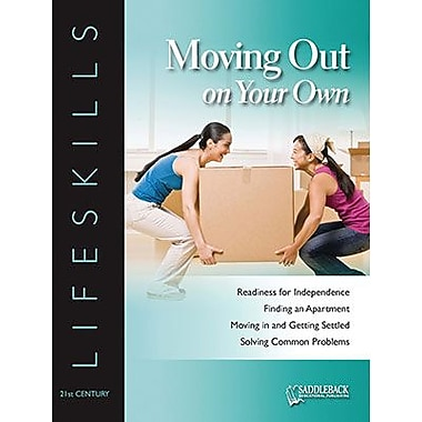 Saddleback Educational Publishing® Moving Out on Your Own Worktext; Grades 9-12