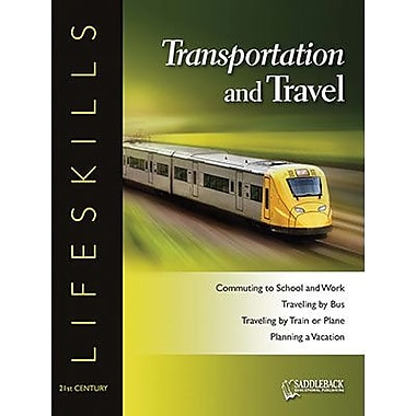 Saddleback Educational Publishing® Transportation and Travel Worktext; Grades 9-12