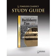 Saddleback Educational Publishing® Timeless Classics; The Adventures of Huck Finn, Study Guide, CD