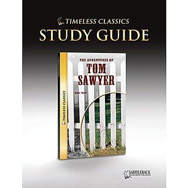 Saddleback Educational Publishing® Timeless Classics; The Adventures of Tom Sawyer, Study Guide, CD