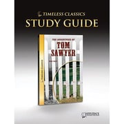 Saddleback Educational Publishing® Timeless Classics; The Adventures of Tom Sawyer, Study Guide, CD