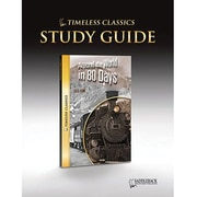 Saddleback Educational Publishing® Timeless Classics; Around the World in 80 Days, Study Guide, CD