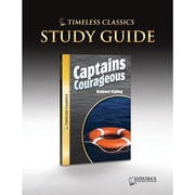 Saddleback Educational Publishing® Timeless Classics; Captains Courageous, Study Guide, CD