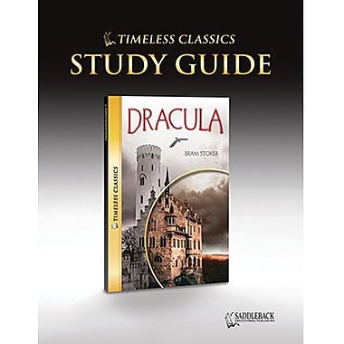 Saddleback Educational Publishing® Timeless Classics; Dracula, Study Guide, CD, Grades 9-12