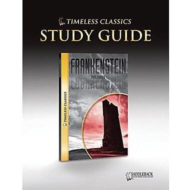 Saddleback Educational Publishing® Timeless Classics; Frankenstein, Study Guide, CD, Grades 9-12