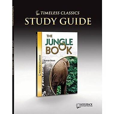 Saddleback Educational Publishing® Timeless Classics; The Jungle Book, Study Guide, CD, Grades 9-12