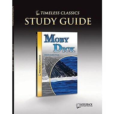 Saddleback Educational Publishing® Timeless Classics; Moby Dick, Study Guide, CD, Grades 9-12