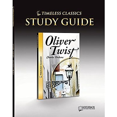 Saddleback Educational Publishing® Timeless Classics; Oliver Twist, Study Guide, CD, Grades 9-12