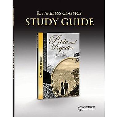 Saddleback Educational Publishing® Timeless Classics; Pride & Prejudice, Study Guide, CD, Grades9-12