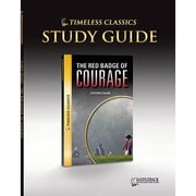 Saddleback Educational Publishing® Timeless Classics; The Red Badge of Courage, Study Guide, CD