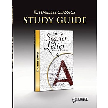 Saddleback Educational Publishing® Timeless Classics; The Scarlet Letter, Study Guide, CD
