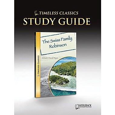 Saddleback Educational Publishing® Timeless Classics; The Swiss Family Robinson, Study Guide, CD