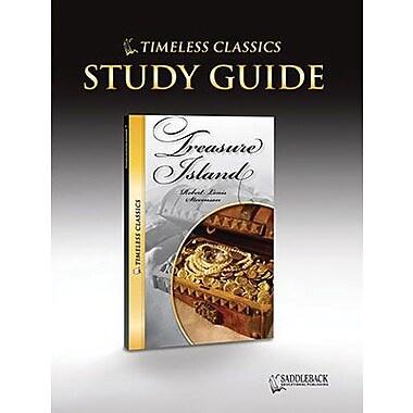 Saddleback Educational Publishing® Timeless Classics; Treasure Island, Study Guide, CD, Grades 9-12