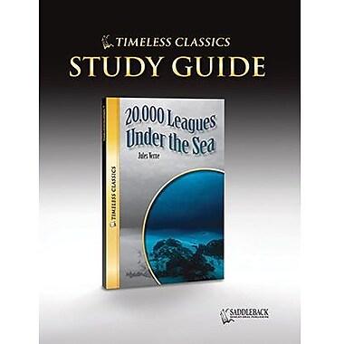 Saddleback Educational Publishing® Timeless Classics; 20,000 Leagues Under the Sea, Study Guide, CD