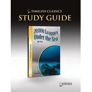 Saddleback Educational Publishing® Timeless Classics; 20,000 Leagues Under the Sea, Study Guide, CD