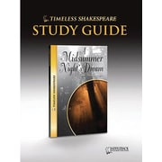 Saddleback Educational Publishing® Timeless Shakespeare; A Midsummer Night's Dream, Study Guide, CD