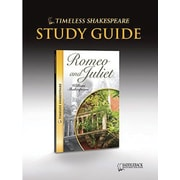 Saddleback Educational Publishing® Timeless Shakespeare; Romeo & Juliet, Study Guide, CD, Grade 9-12