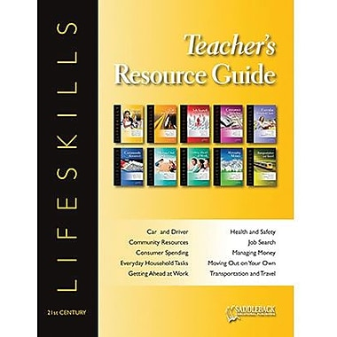 Saddleback Educational Publishing® 21st Century Lifeskills Teacher's Resource Guide CD; Grades 9-12
